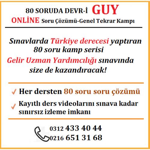 80 SORUDA ONLİNE DEVR-İ GUY
