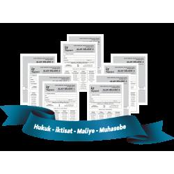 2019 KPSS-A Tamamı Çözümlü 5'li Alan Denemeleri FASİKUL