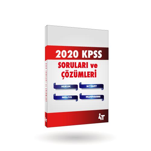 2020 KPSS SORULARI ve ÇÖZÜMLERİ