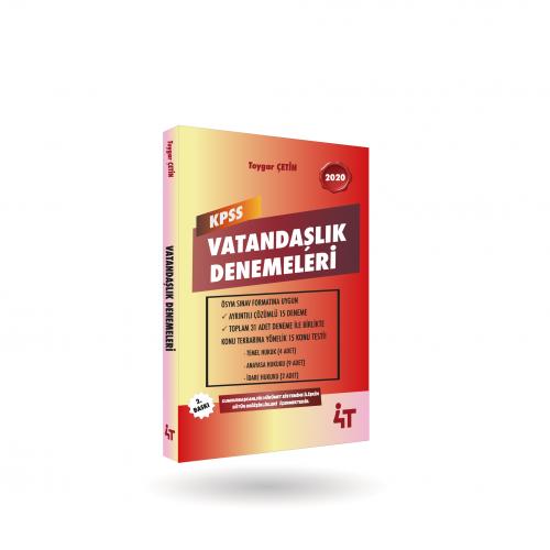 KPSS VATANDAŞLIK DENEMELERİ 2.BASKI