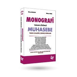 MONOGRAFİ TAMAMI ÇÖZÜMLÜ MUHASEBE YAZILI (KLASİK) SORULAR 1. BASKI