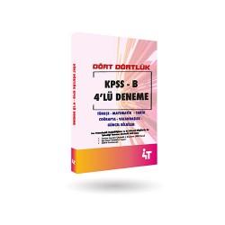 DÖRT DÖRTLÜK KPSS - B DENEMELERİ