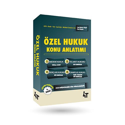 ÖZEL HUKUK KONU ANLATIMI (6. BASKI)