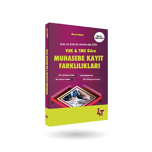 VUK & TMS' Göre  MUHASEBE KAYIT FARKLILIKLARI