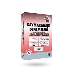 KAYMAKAMLIK DENEMELERİ 6. BASKI
