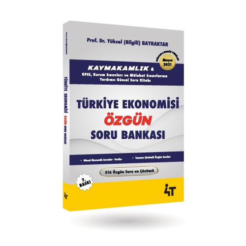 TÜRKİYE EKONOMİSİ ÖZGÜN SORU BANKASI (7.BASKI)