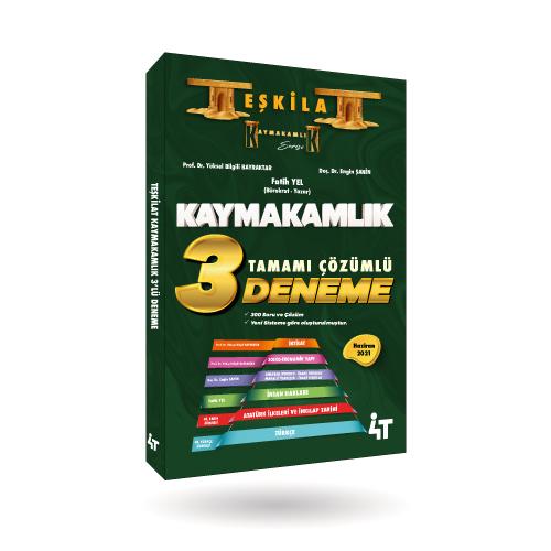 TEŞKİLAT KAYMAKAMLIK  3'LÜ DENEME