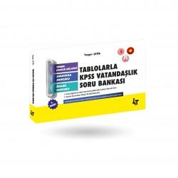 TABLOLARLA KPSS VATANDAŞLIK SORU BANKASI 2.BASKI
