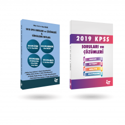 2018-2019 KPSS SORULARI SETİ