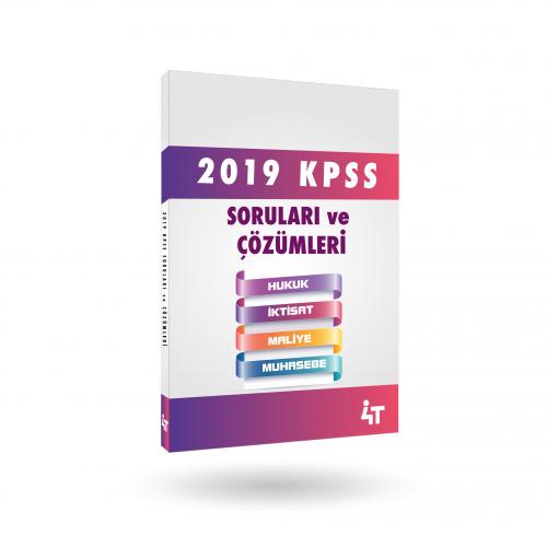 2019 KPSS SORULARI ve ÇÖZÜMLERİ