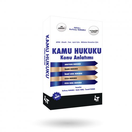 KAMU HUKUKU KONU ANLATIMI 6. BASKI