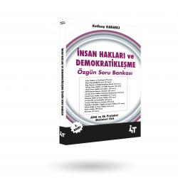 İNSAN HAKLARI VE DEMOKRATİKLEŞME ÖZGÜN SORU BANKASI 3.BASKI