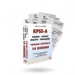 2019 KPSS-A TAMAMI ÇÖZÜMLÜ 10 DENEME