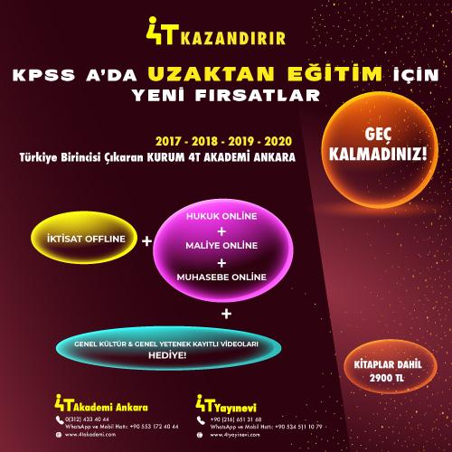 KPSS-A  KARMA PAKET 1 (OFFLİNE + ONLINE PAKET KİTAPLAR DAHİL)