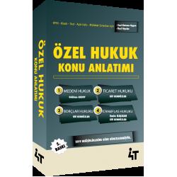 ÖZEL HUKUK KONU ANLATIMI (5. BASKI)