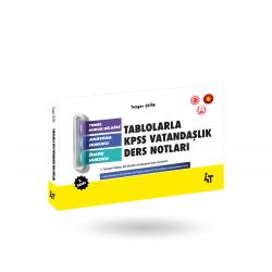 TABLOLARLA KPSS VATANDAŞLIK DERS NOTLARI 2.BASKI