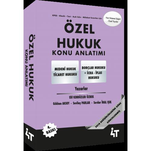 ÖZEL HUKUK KONU ANLATIMI (4. BASKI)
