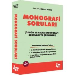 MONOGRAFİ SORULARI (2. BASKI)