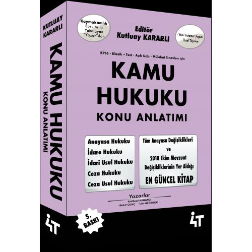 KAMU HUKUKU KONU ANLATIMI 5. BASKI