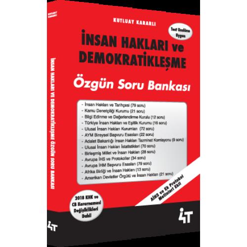 İNSAN HAKLARI VE DEMOKRATİKLEŞME ÖZGÜN SORU BANKASI 1. BASKI