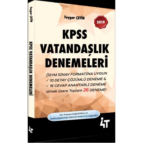 2019 KPSS VATANDAŞLIK DENEMELERİ